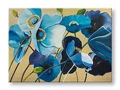 Tablouri pictate manual pe canvas FLORI 1-piesă YOBAM004E1 Clay, Canvas, Painting Flowers, Modern, Art, Backgrounds, Clays, Tela, Art Background