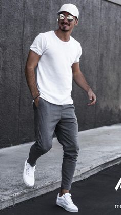 Mens Style Discover 5 Joggers Outfits For Men is part of Streetwear men outfits - Athleisure Outfits Casual Mode Outfits Men Casual Outfits For Men Casual Styles College Outfits Mens Casual Street Style Men Street Styles Men Street Outfit Outfits Casual, Mode Outfits, Outfits For Men, College Outfits, Summer Clothes For Men, Mens Casual Summer Outfits, Simple Outfits, Mens Summer Wardrobe, Outfit Formal