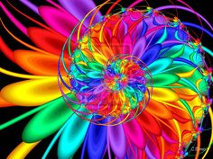 rainbow Fractal  | 60 Strikingly Beautiful Fractal Arts From deviantART | Pixel Curse