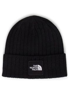 The North Face Logo Boxed Cuffed Beanie Black Beanie 964f48a2839a