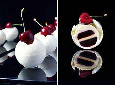 "4,119 Likes, 34 Comments - Nina Tarasova (@niksya) on Instagram: ""Individual cake «Lord Vanilla» from my master-class in China. Composition: vanilla chiffon sponge…"""