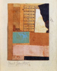 Schwitters Dadada...so old and so contemporary