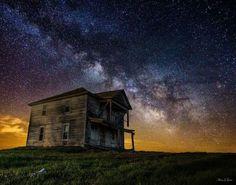South Dakota and the Milky Way.