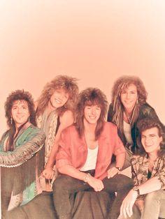 Bon Jovi - back in the day