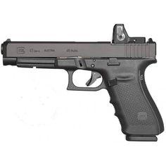 Glock gen 4 model 41 long slide .45 acp MOS