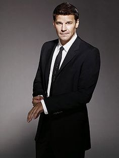 Booth. You are a hot hot man. he was hotter when he played Angel. yummy