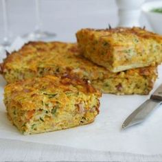 #RecipeoftheDay: Sweet Potato and Bacon Slice by bellaicious