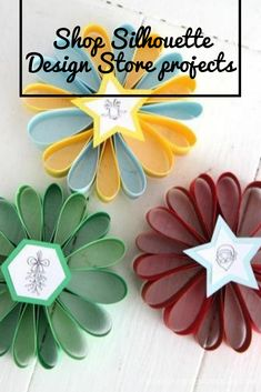 Put together these three cute coloring projects for an awesome kid project! Projects For Kids, Design Projects, Craft Projects, Silhouette Projects, Silhouette Design, Coloring, Santa, Ornaments, Awesome