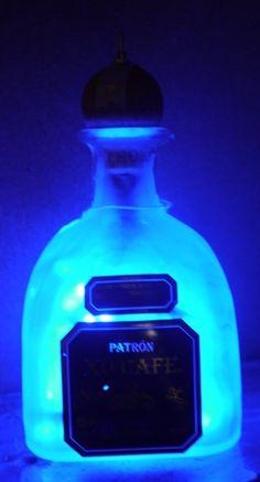 Battery Powered Portable Nightlight by RecycledDesignLondon on Etsy