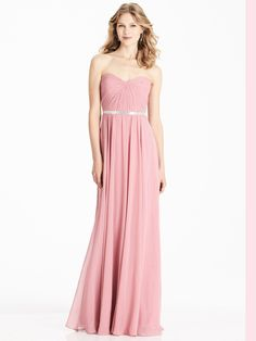 Shop Weddington Way Bridesmaid Dress - Lila in Poly Chiffon at Weddington Way. Find the perfect made-to-order bridesmaid dresses for your bridal party in your favorite color, style and fabric at Weddington Way. Peach Maxi Dresses, Azazie Bridesmaid Dresses, Prom Dresses, Formal Dresses, Bridesmaids, Pink Maxi, Bridesmaid Ideas, Pink Dress, Long Dresses
