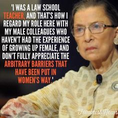 The amazing, notorious RBG. Words Quotes, Wise Words, Me Quotes, Sayings, Shirt Quotes, Beth Moore, Oscar Wilde, Great Quotes, Inspirational Quotes