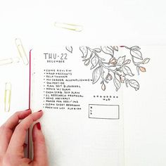Instagram media by bonjournal_ - My unstructured week (ie no meetings) means I've been forgoing the time ladders.  Now I'm preparing for vacation and the holidays. . . . . These delicate buds are inspired by my watercolor art (i make greeting cards) and @feebujo. Have you seen her latest post?  Please go check it out.. the hint of color is so lovely.  She is very talented and has solved my ongoing conflict of how to incorporate color in my bullet journal while keeping it simple.