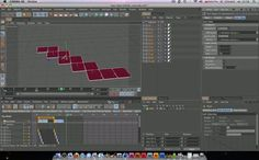 Cinema 4D - Xpresso Tutorial by Maciek Urb. Tutorial - or rather a break down - describing an xpresso rig for animating square plates that unfold from each other.