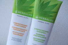 FabEllis: Herbalife Herbal Aloe Strengthening Shampoo & Conditioner Review
