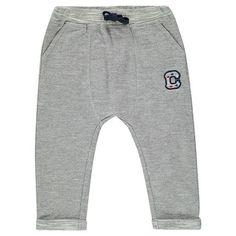 Pantalon de jogging en molleton esprit chevrons avec patch  Main