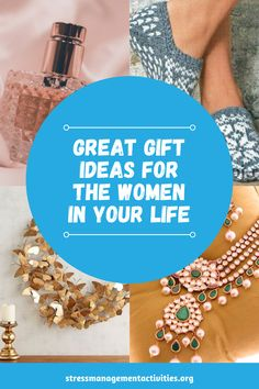 Struggling to come up with great gift ideas for women in your life? Sometimes it can be a challenge to shop for the women in your life. Until now! Take a look at this gift guide that is jam packed with great gift ideas for women and enjoy a stress-free shopping experience. Your perfect gift is just one click away. Click the link to try it now. #giftforfriend #giftforwife #giftguide, #shopping #giftformom Stress Free, Stress Relief, Gifts For Wife, Gifts For Friends, Holiday Stress, Health And Wellbeing, Resolutions, Gift Guide, Great Gifts