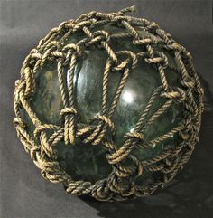 Huge Japanese Glass Fishing Float Found by DaveArcherArtistShop, $165.00 / if only i had the moulah