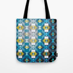 Cubic grunge Tote Bag by g-man Print On Demand, Grunge, G Man, Reusable Tote Bags, Stuff To Buy, Grunge Style
