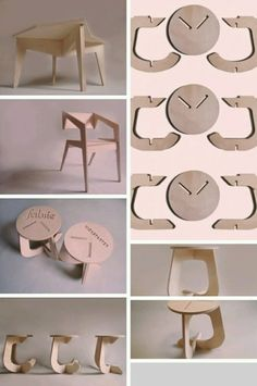 Stylish and Modern Origami Furniture Samples - wood design Folding Furniture, Origami Furniture, Cardboard Furniture, Modular Furniture, Furniture Projects, Furniture Plans, Kids Furniture, Furniture Design, Furniture Online