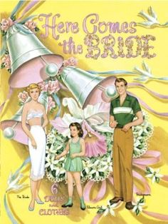 Here Comes the Bride Paper Dolls