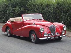 1953 Healey Abbott DHC Convertible.  Maintenance/restoration of old/vintage vehicles: the material for new cogs/casters/gears/pads could be cast polyamide which I (Cast polyamide) can produce. My contact: tatjana.alic@windowslive.com