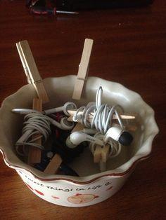 Headphone tangles no more!