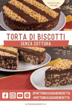 Best Chocolate Cake, Chocolate Cookie Recipes, Baking Recipes, Cake Recipes, Dessert Recipes, Mini Desserts, No Bake Desserts, Lazy Cake, Super Torte