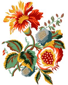 Refine Stock – Refine your creativity Bunch Of Flowers, Types Of Flowers, Flower Pattern Design, Flower Patterns, Textiles, Textile Prints, Motif Floral, Floral Prints, Flower Art Images