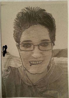 Self Portrait Pencil Sketch