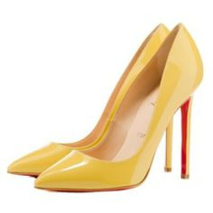 Buy Christian Louboutin Pigalle 120 Pointed Toe Pumps Yellow Online from Reliable Christian Louboutin Pigalle 120 Pointed Toe Pumps Yellow Online suppliers.Find Quality Christian Louboutin Pigalle 120 Pointed Toe Pumps Yellow Online and more on Christianl Pointed Toe Pumps, High Heel Pumps, Women's Pumps, Stiletto Heels, Stilettos, Peep Toe, Shoes Heels, Louboutin Pigalle, Louboutin Pumps