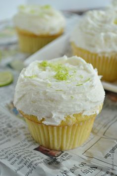 Tequila Lime Cupcakes Recipe
