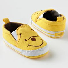 Disney winnie the pooh canvas shoes