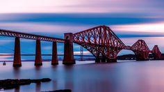Forth Bridge, Edinburgh, Scotland.