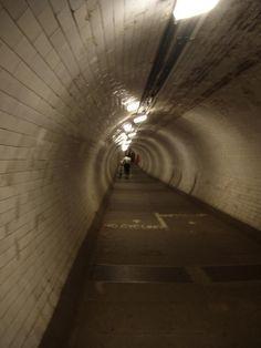 Greenwich Foot Tunnel -Tunnel from Greenwich, under the Thames River to the Isle of Dogs - we walked this tunnel and took light rail back to London