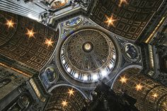 An Awesome Sight, St. Peter's Basilica, Vatican City, Rome Italy