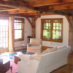 exposed ceiling beams...a must in my dream house!