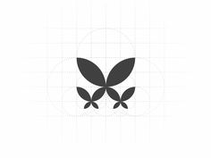 TWinspire by MisterShot #logos #logoinspirations #butterfly #graphicdesigner #logodesign #grid #logogrid