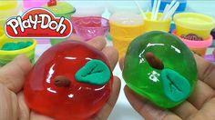 Play Doh+Jelly Monster Ice cream Fruit Toy Doll Velcro Surprise Egg Disn...