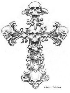 Death Cross by Roger Trivinos