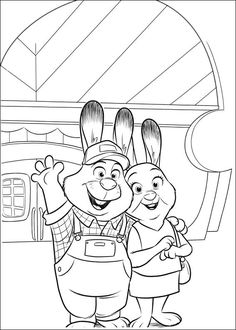 Zootopia Coloring Pages 25