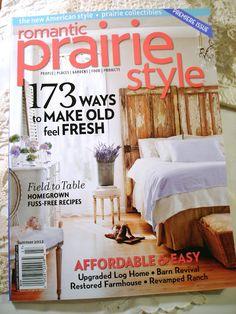 new mag Romantic Prairie style
