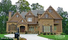 Mayhaven Cottage House Plan # 04067, Front Elevation, French Country Style House Plans, European Style House Plans