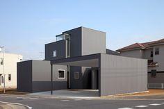 Folded W | 駒田建築設計事務所 - KOMADA ARCHITECTS OFFICE