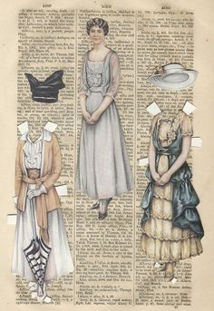 Purchased a big lot of paper dolls at an estate sale.  Most pieces had already been cut and/or some written on, etc.  I am researching them as I go along and will share images if I determine that they maybe in public domain.  I am pretty sure there maybe more outfits and dollies....still going through all of the baggies....  Sheila Young, Illustrator Lettie Lane Paper Family paperdolls that were available in Ladies Home Journal during the 1915--1917 timeframe.  Thought these could be use...