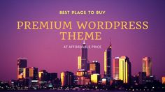 Here is a list of 20 place where you can purchase premium wordpress themes for your website or blog. Hope this list will help you a lot for finding perfect theme for your site.