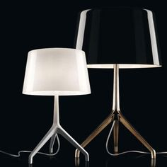 Foscarini Lumiere XXS + XXL Table Lamp - Style # 191001xx-xx, Modern Table Lamps – Table Lamp – Table Lighting – Bedroom Table Lamps – Lamps...