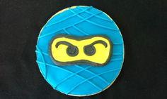 6 Hand Decorated Ninjago Cookies by LochelsBakeryLLC on Etsy, $24.00