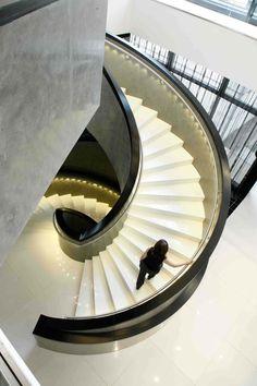 Größte Hotelrenovierung in Deutschland seit den 50er Jahren - Tetris-db Stairs, Home Decor, The Fifties, Refurbishment, Germany, Stairway, Decoration Home, Staircases, Room Decor