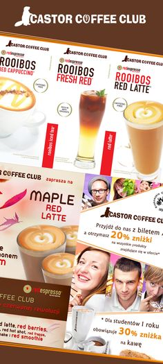 Castor Coffee Club by Michał Rodak, via Behance