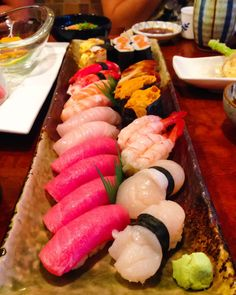 Sushi in Italy #sushi #food #foodporn #japanese #Japan #dinner #sashimi #yummy #foodie #lunch #yum